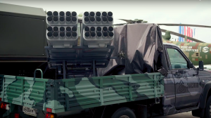 VIDEO: Zaslon Center Presented Pickup-Based MLRS and Airfield Hardware at Army-2018 Forum