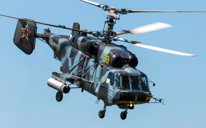 Ka-29 deck-based transport & combat helicopter