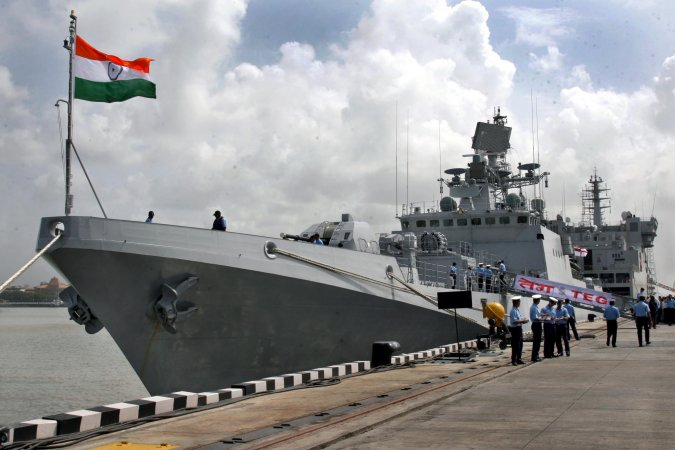 Indian Navy's Project 11356 frigate