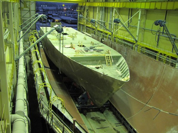 Taking the Project 12700 ship's hull out of matrix
