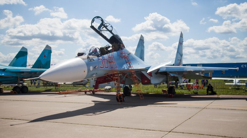 Su-30SM multirole fighter