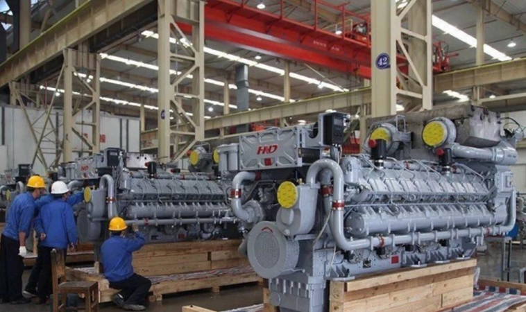 Diesel engine CHD622V20 produced by Chinese Henan Diesel Engine Industry Limited