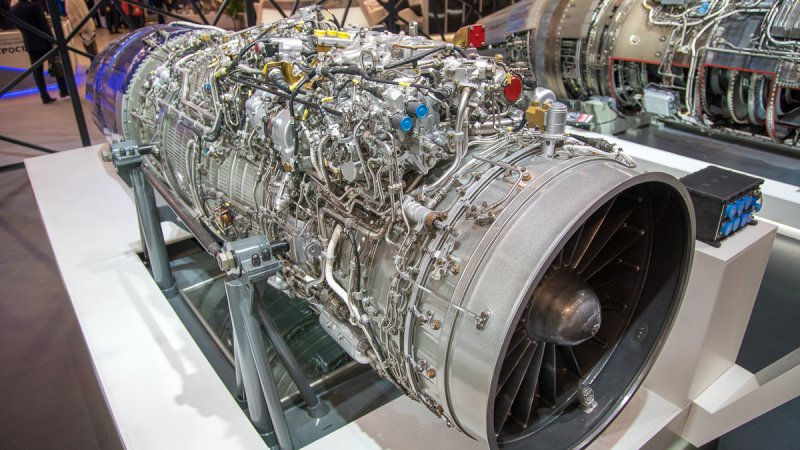 RD-33MK turbojet engine for deck-based aircraft
