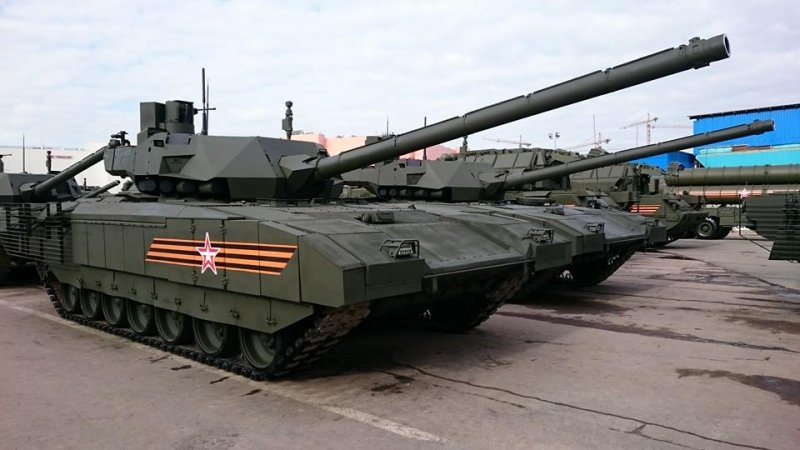 Newest Russian tank T-14