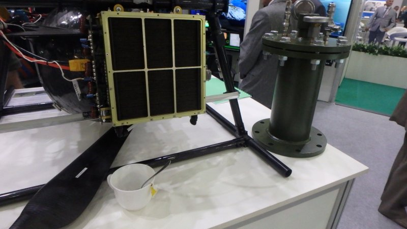Charger for hydrogen-powered UAV