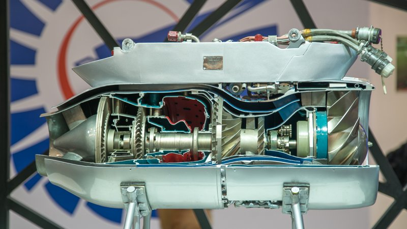 TRDD-50AT (36MT) turbojet bypass engine for subsonic UAVs