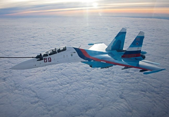 Multirole fighter Su-30