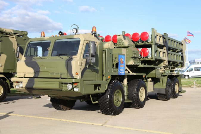 Air defense system S-350