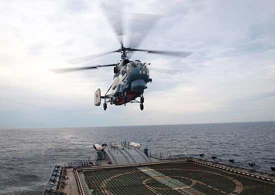 Ka-27 ship-based helicopter