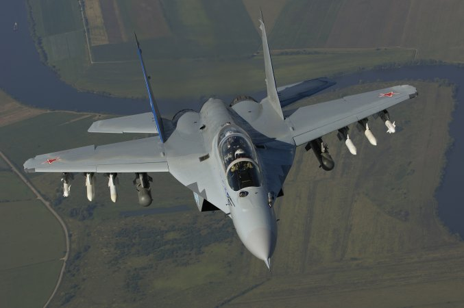 MiG-35 multirole fighter