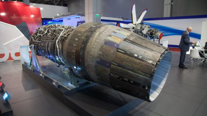 Bypass turbojet engine AL-41F-1S for 4++G multirole fighter