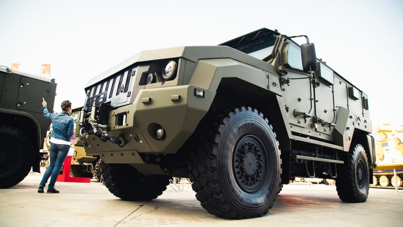 Typhoon K-53949 armored vehicle designed by JSC Remdiesel