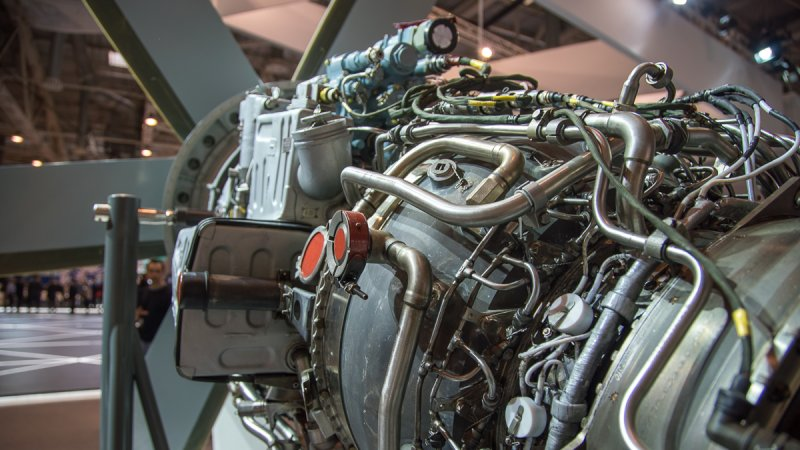 TV7-117PS engine for Il-112V military transport aircraft and Il-114-300 medium-haul aircraft