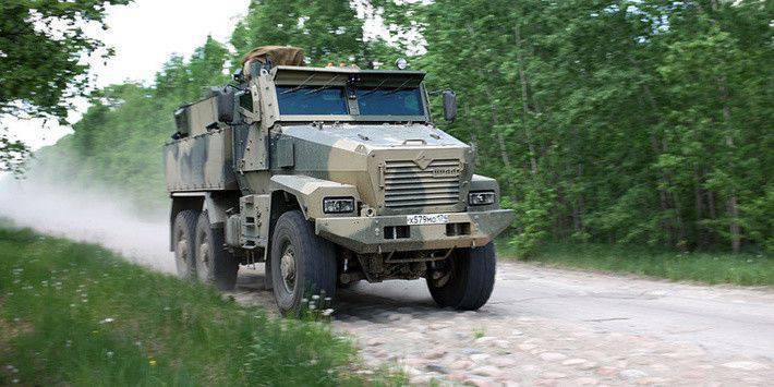 Armored truck Typhoon-U