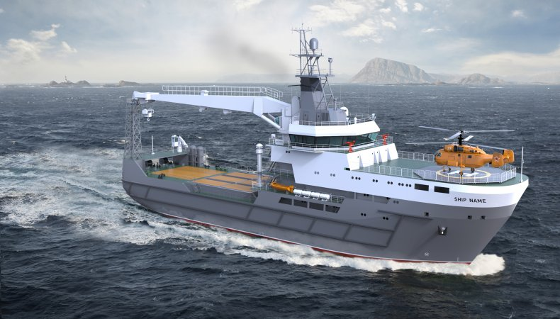 Project 20360M sea-going arms supply ship