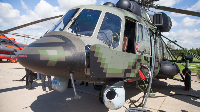 Mi-171Sh-VN military transport helicopter for special forces