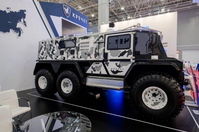International Military-Technical Forum «ARMY-2018»  Krechet