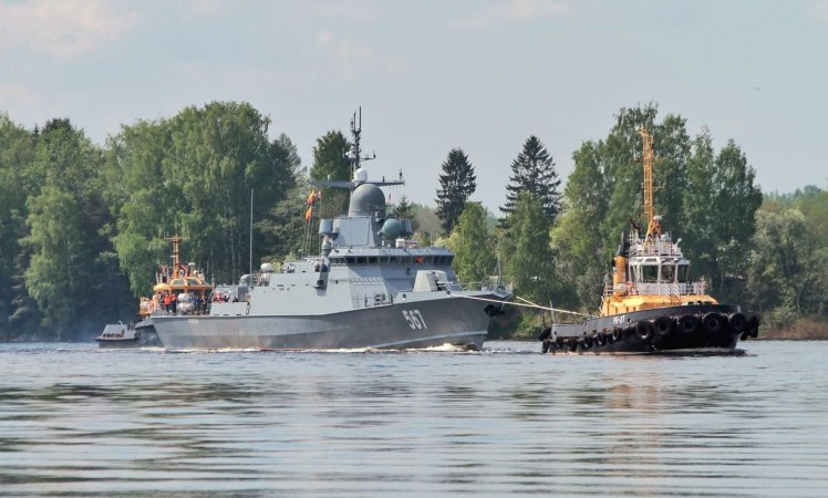 Corvette Uragan (Project 22800 Karakurt)