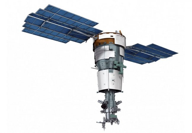 The Resurs satellite