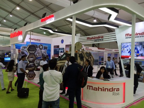 Indian military exhibition DEFEXPO India