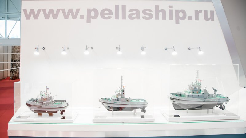 Tugs designed and produced by Pella shipyard