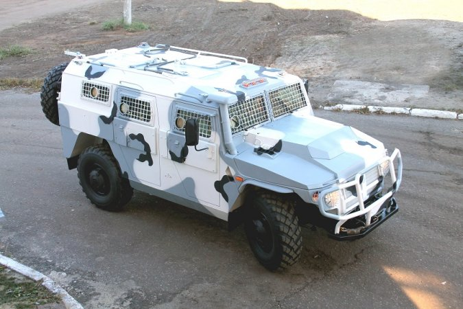 Tiger armored rover