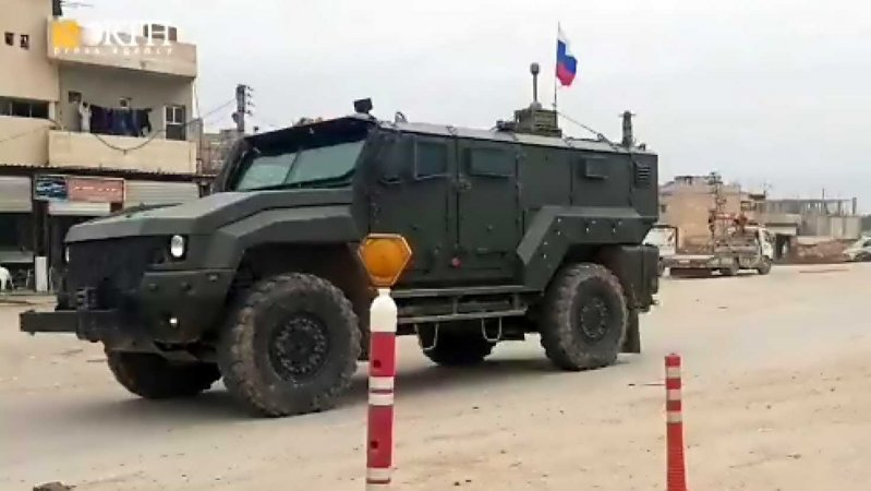 Typhoon K-53949 within the Russian patrol in Tal Tamr
