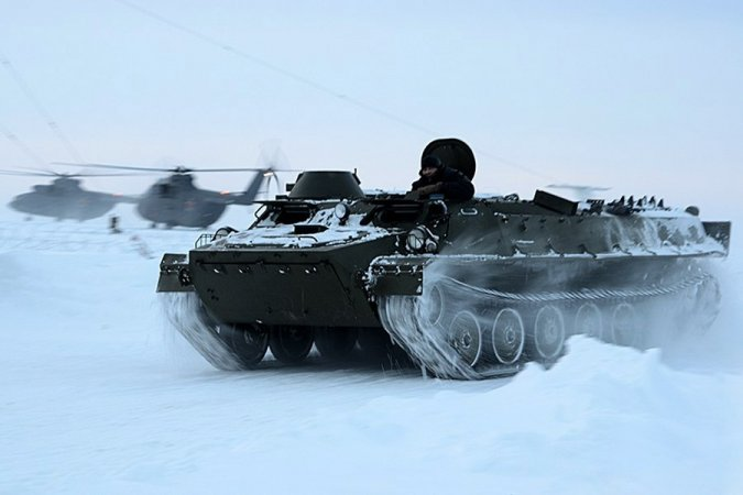 Russian military in the Arctic