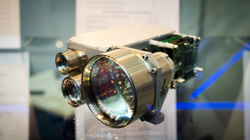 Laser rangefinder/illuminator HTEB.461321.011 at the Quantum Optics' booth