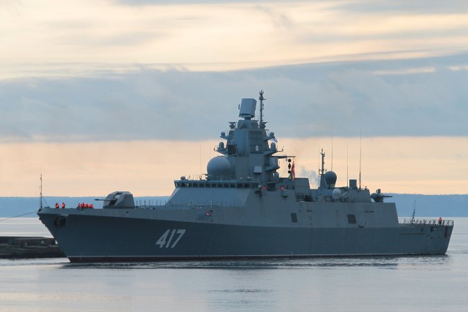 Project 22350 frigate Admiral Gorshkov