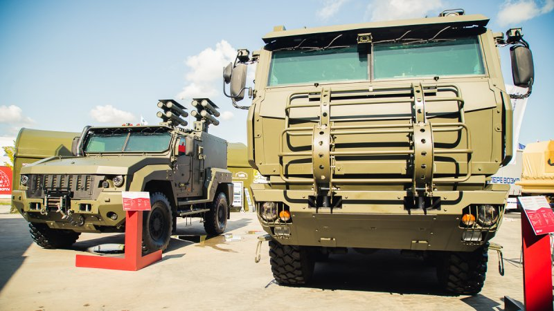 Armored cars by JSC Remdiesel at Army-2018 forum