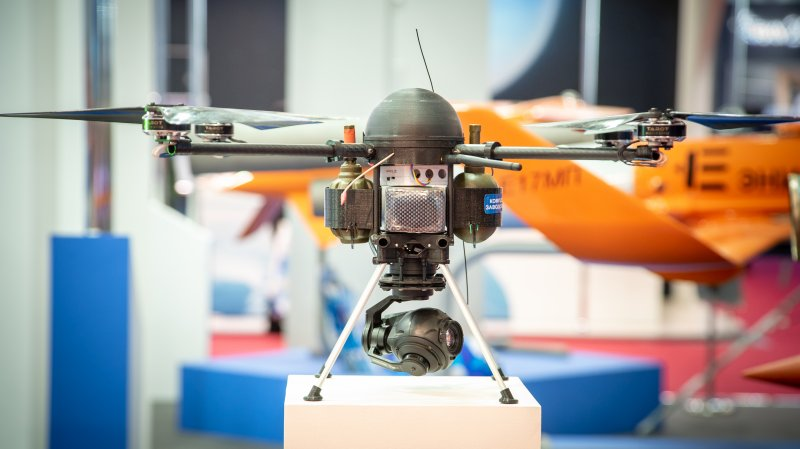 UAV Veer produced by Enics