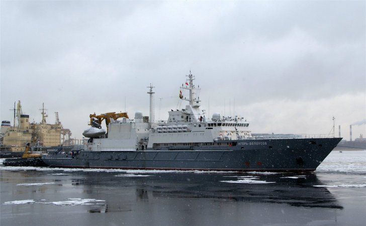 Project 21300 Igor Belousov rescue ship