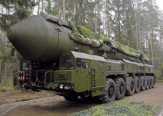 Strategic missile system Yars