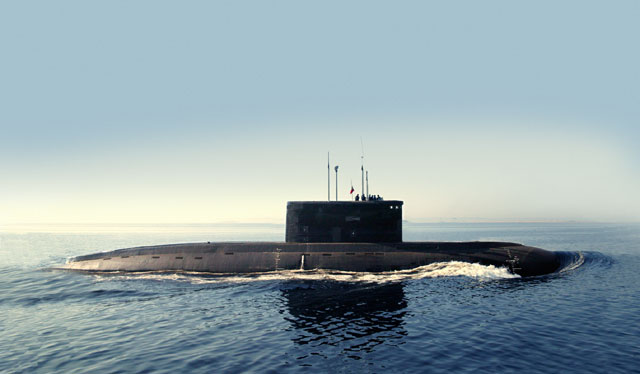Project 636 diesel electric submarine