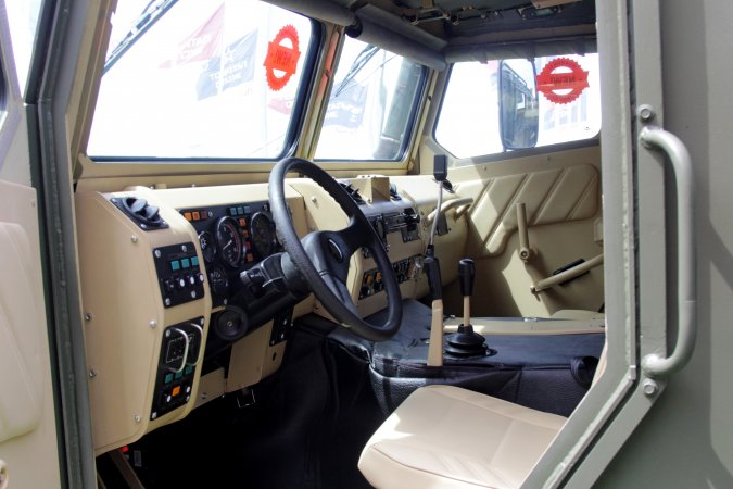 Cabin of Athlete armored rover