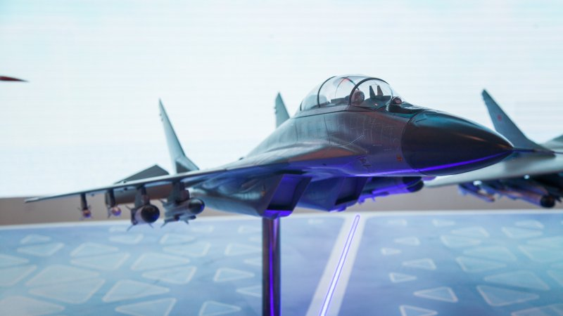 Model of MiG-35 light multirole fighter