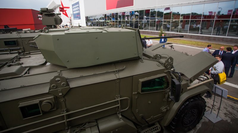 Typhoon-VDV armored car