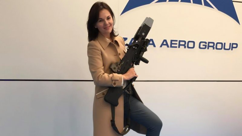 Sofia Ivanova, director for external communications at Kalashnikov Group