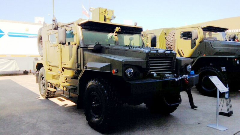 Armored rover Ural-53099