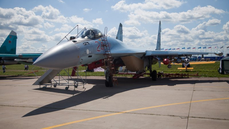 Su-35 multirole fighter