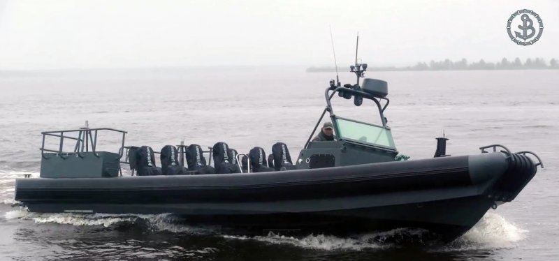 BK-10 fast-speed assault boat equipped with Ullman seats