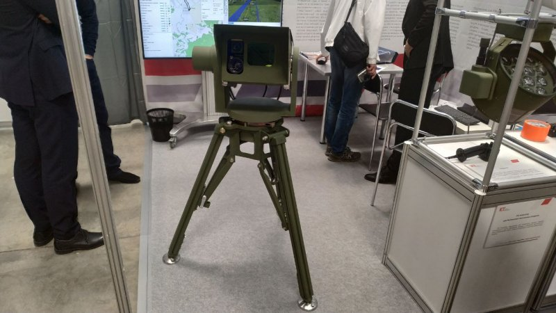 UAV positioning laser system designed by Kronshtadt Group