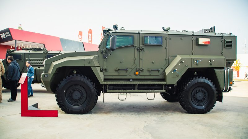 Typhoon K-53949 armored rover designed by JSC Remdiesel