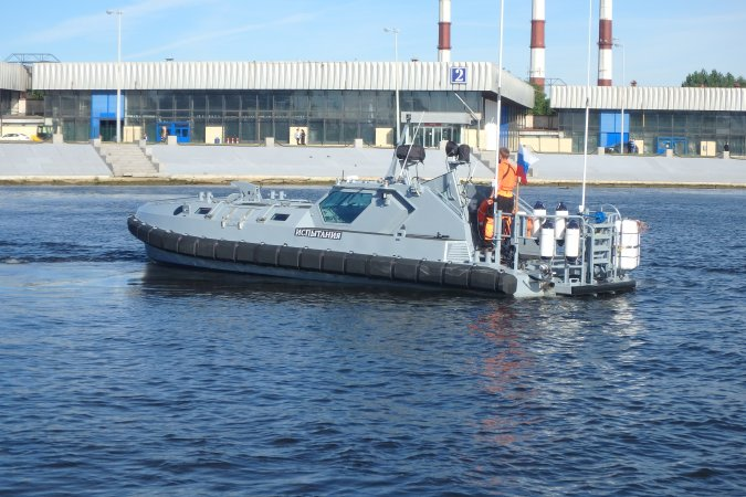 Russian Navy Adopted Six Assault Landing Boats